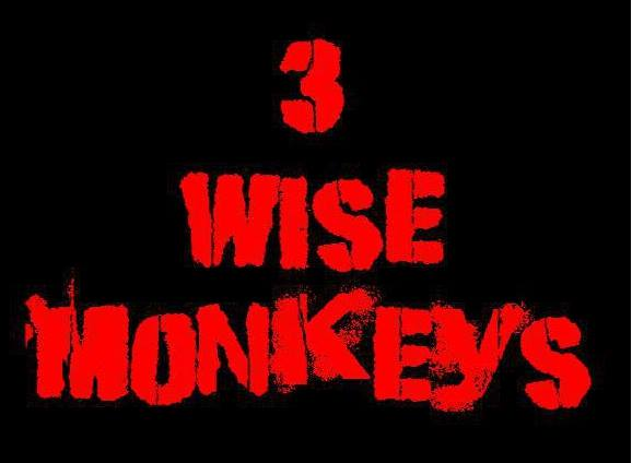 ROW ZED, 3 WISE MONKEYS, BOURBON STREET 5, CONNAL ADAMS