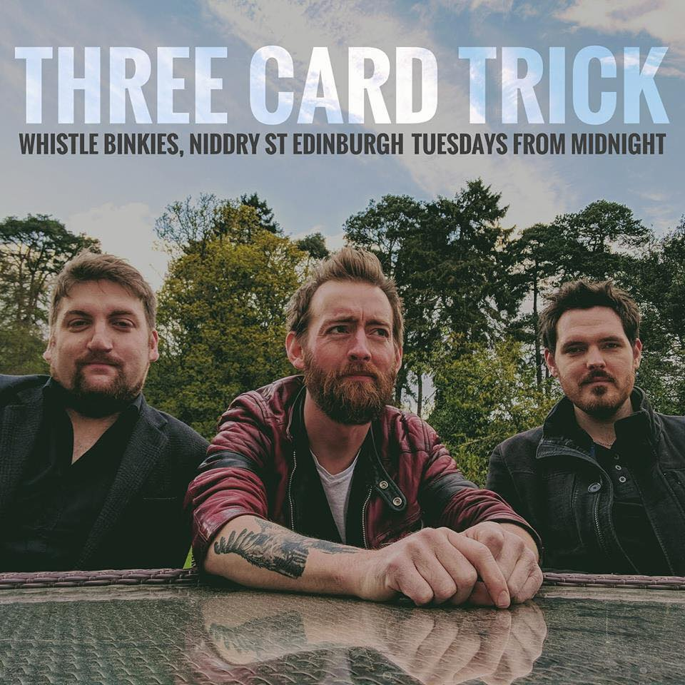 THREE CARD TRICK, BLUEPRINT BLUES BAND